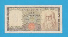 Lire 50.000 Leonardo Da Vinci 16-5-1972 R.