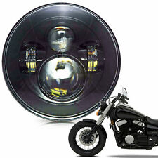"""7"""" Crystal Headlight LED Projector For Honda Shadow VT VT1100 VT750 VT600 VF750"""