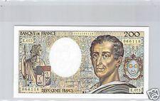 FRANCE 200 FRANCS MONTESQUIEU 1989 E.075 N° 1484066116