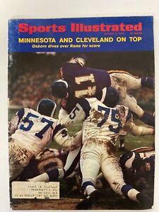 Vintage Dave Osborn, Minnesota Vikings, 1//5/1970  Sports Illustrated  Magazine