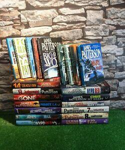 James Patterson Hardback Books Bundle X 21 Free P&P