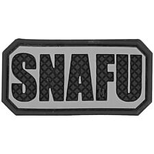Maxpedition SNAFU 3D Rubber Patch Military Marines Slang Funny Badge SWAT