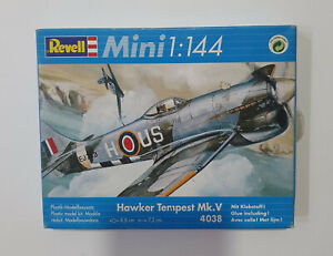 HAWKER TEMPEST Plastic model kit 1:144 Scale REVELL Mini 4038 Never opened