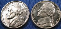 1972 P D Jefferson Nickel Set 1-D 1-P Brilliant Uncirculated Mint Set Coin's