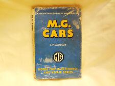 MG CARS T-Series Reference Manual Book Service Maintenanc Guide Repair DAVIDSON