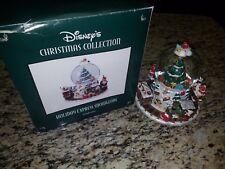 Disney Christmas Collection Holiday Express Snowglobe CIB 20108 Musical Train