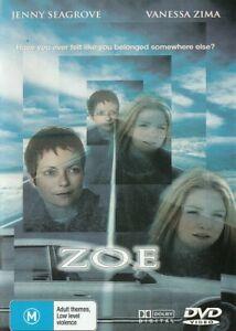 "ZOE DVD 2001 Jenny Seagrove "" Three runaway girls hijack a car "" VERY RARE MOVIE"