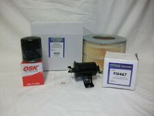 Suits:Landcruiser 1996-99 4.5 1FZFE FZJ+80+75+70 AIR OIL FUEL FILTER SERVICE KIT