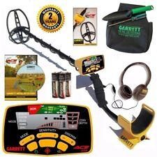 Garrett Ace 350 Metal Detector with Treasure Digging Kit + Submersible Coil
