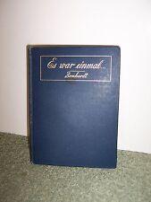 Awesome 1893 Antique Book in German - Es war einmal Bernhardt