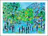PARIS EN MAI  modern art   oil painting