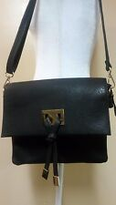 Black messenger handbag by Black Rivet - Genuine Leather - All purpose!