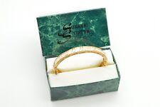 SUZANNE SOMERS Sterling Silver 925 CZ Bracelet Bangle NOS Trilliant