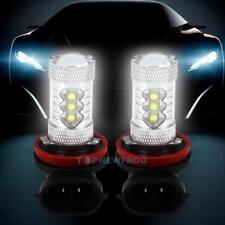 2pcs CREE H11 80W 6000K Car LED Fog Tail Head Light Lamp DRL Bulb Super White