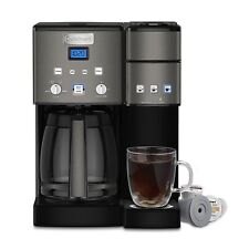 Cuisinart Coffee Center Maker, SS-15BKS, Black Stainless, Certified Refurbished