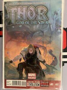 Thor God Of Thunder #2- 1st Appearance Of Gorr The God Butcher & All Black Sword