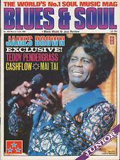 James Brown Blues & Soul 1986  Janet Jackson  Teddy Pendergrass Cashflow Mai Tai