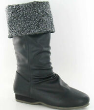 Flat (less than 0.5') Heel Spot On Synthetic Boots for Women