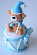 "Boy/Girl Baby Shower Pink/Blue Teddy Bear 4""Tall Party Favors/Cake Topper Decore"