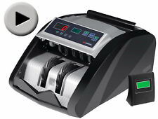 NEW MONEY BILL CASH COUNTER BANK MACHINE CURRENCY COUNTING UV & MG COUNTERFEIT!