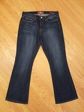Womens NEW Lucky Mid Rise Sofia Boot Cut Stretch Dark Denim Jeans 12 / 31 Ankle