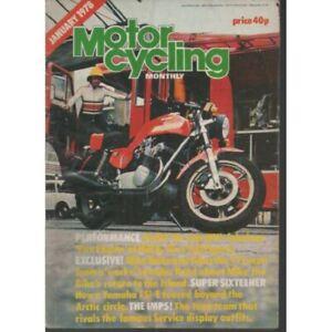 Motor Cycling Monthly Magazine January 1978 - YAMAHA FS1-E (007)