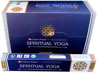 3 boîtes d'Encens Garden Fresh Spiritual Yoga masala 15g