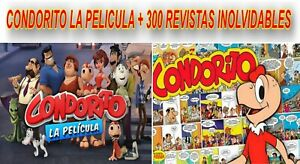 Condorito Coleccion DVD COMICS 300 Revistas + Pelicula De Condorito Español