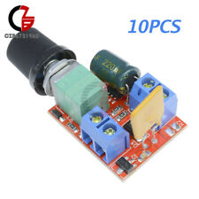 10x Mini DC 3V-35V 5A Motor PWM Speed Controller Speed Control Switch LED Dimmer