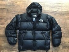 Men's The North Face Black Goose Down Nupste Puffa Parka Jacket Small