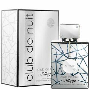 Armaf Club De Nuit Sillage 3.6oz/ 105 ml Unisex Eau de Parfum Perfume Sealed