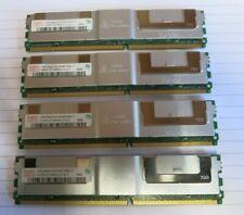 Hynix HYMP512F72BP8N3-Y5 AC-T 4GB (4x1GB) PC2-5300 DDR2 ECC CL5 240P DIMM Memory