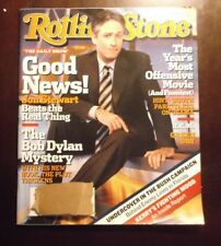 ROLLING STONE MAGAZINE OCTOBER 28 2004 JON STEWART BOB DYLAN R.E.M. GREEN DAY
