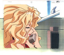 Golden Boy Anime Cel Animation Art Beautiful Madame Prez on Phone Lesson 6