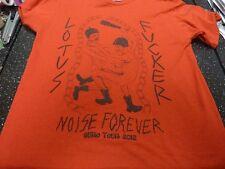 Lotus F ** ker ruido Forever oficial Euro Tour camiseta en Med con gastos de envío gratis