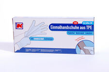 100TPE Handschuhe Kordis Marke Einweghandschuhe Lebensmittel Einmalhandschuhe M