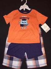 NWT Carters 3 Piece Sleepwear 18 Months Mommy's Monster
