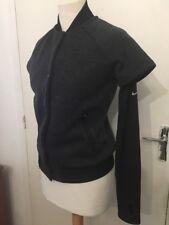 Blouson Noir Nike Style Teddy Gris Noir Taille S