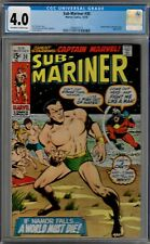 CGC (MARVEL) SUB-MARINER #30 CAPTAIN MARVEL 1970