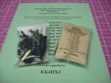 Realistic TRC-490 - PREMIUM - Electrolytic Capacitor Kit (PC-385)