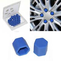 20x Blau Silikon Kappen für Peugeot 207 307 106 107 308 407 508 306 406 Partner