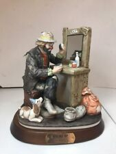 Flambro Emmett Kelly Jr Ltd Ed Making Up 9852 Signature Collection