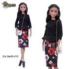 """ELENPRIV FAO-015 skirt top bag for Barbie MTM Pivotal Poppy Parker 12"""" doll"""