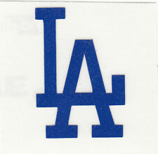REFLECTIVE Los Angeles Dodgers LA 2 inch fire helmet decal sticker RTIC window