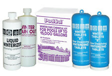 Swimming Pool Winterizing Closing Kit 15,000 Gal….Tablets+Winterizer+Stain Out