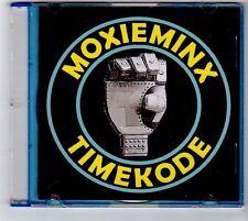 (FA937) Moxie Minx, Time Kode - 2012 DJ CD