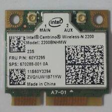 ORIGINAL INTEL CENTRINO WIRELESS-N 2200 PCIe MINI 60Y3294 60Y3295 Tested Good