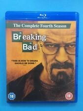 BREAKING BAD - THE COMPLETE FOURTH SEASON 4TH SERIES BLU RAY HD DVD Video Set