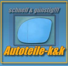 Spiegelglas BMW E36 M3 91-98 TUNING links BLAU asphärisch Spiegel Fahrerseite