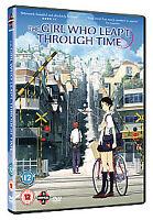 The Girl Who Leapt Through Time: REGION 2 DVD (2008) Mamoru Hosoda- ANIME